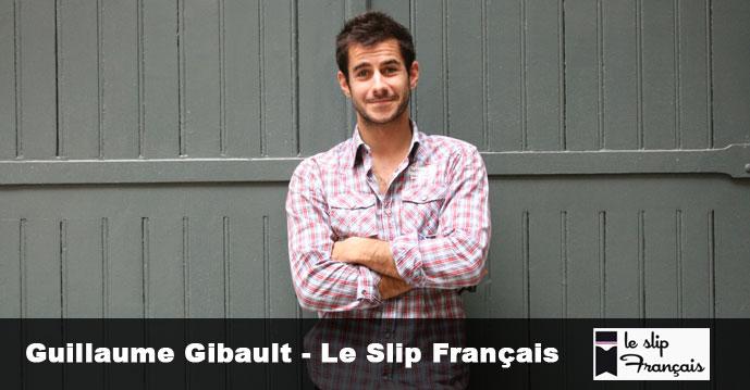Guillaume Gibault, créateur de la marque de sous vêtements Le Slip Français