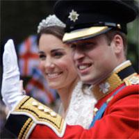 Photo du Prince William et de Kate Middleton