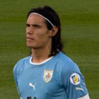 Photo du joueur de football Edinson Cavani