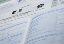 Feuille d'impôt, formulaires CERFA
